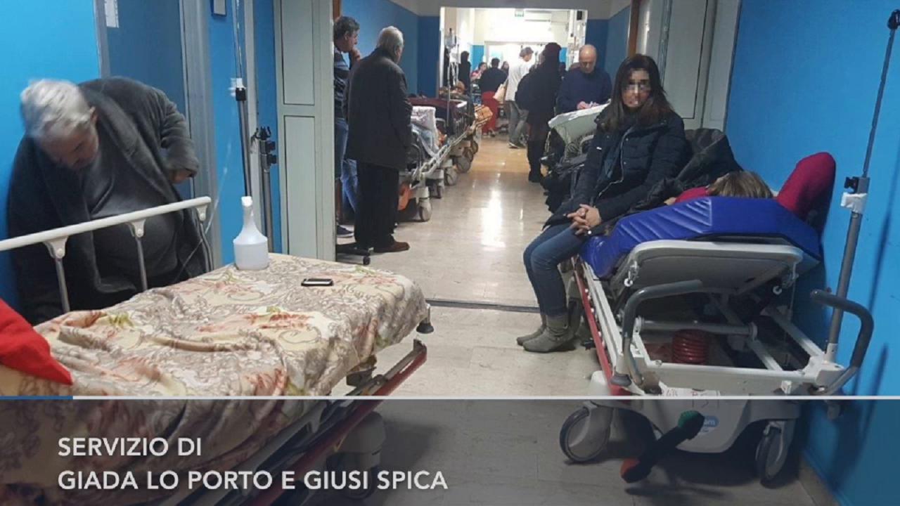 Palermo viaggio all 39 ospedale cervello 50 pazienti in - Posto letto parma ...