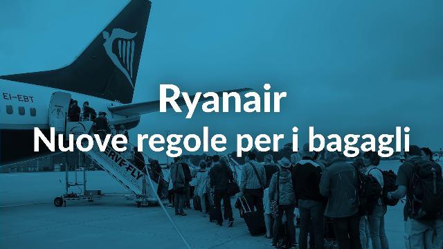 Trolley Addio Permessi Cabina Gratis Rivoluzione In Al Ryanair qtxc41F