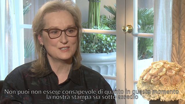 Che Tempo che Fa, ospiti Steven Spielberg, Tom Hanks e Meryl Streep