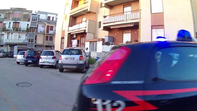 Il blitz di Agrigento: l'uscita degli arrestati dalla caserma di Villaseta