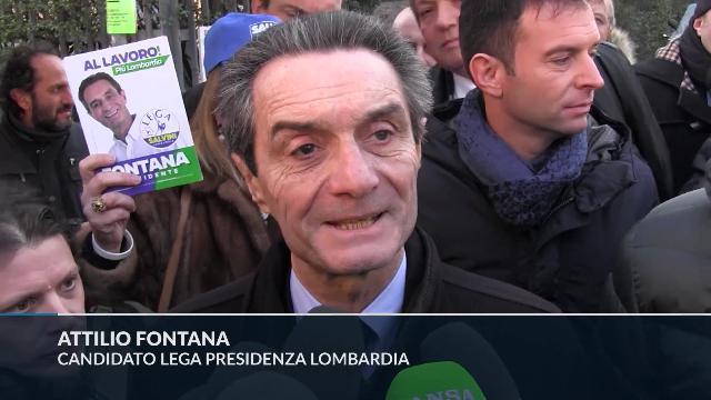 Elezioni Lombardia, Fontana: ''Cacceremo centomila clandestini. Come? Ci organizzeremo''