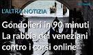 """L'altra notizia. """"Diventa gondoliere in 90 minuti"""", i veneziani contro i corsi sul web"""