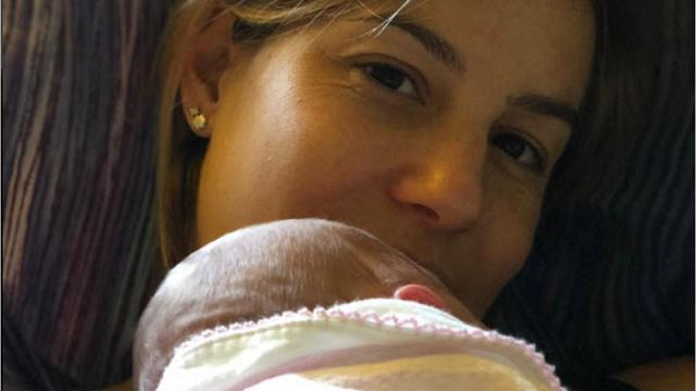 Tania Cagnotto presenta Maya La prima foto con la figlia