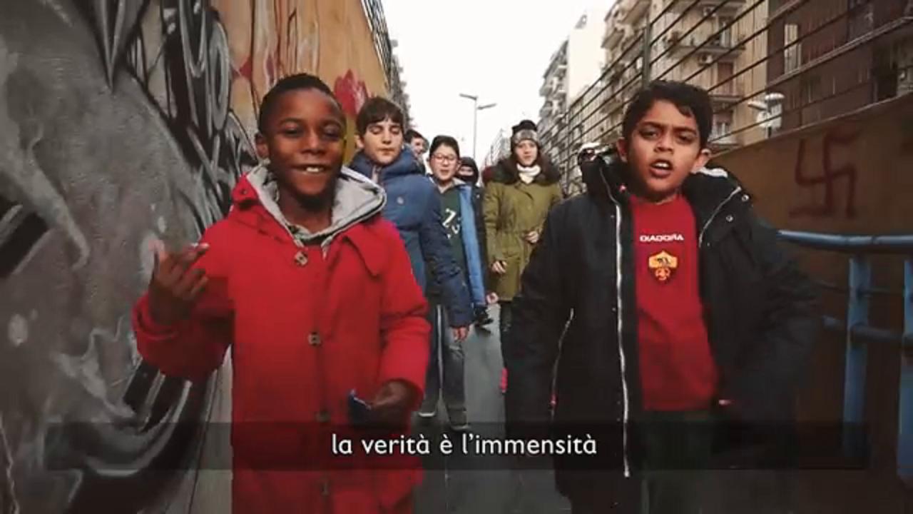 Bari il rap di save the children per il rione a rischio for Punto luce bari