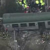Incidente ferroviario a Pioltello, le chiamate ai soccorsi: ''Aiutateci, il treno è deragliato''