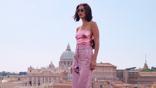 Bella Hadid a Roma per Bulgari, è lei il volto della nuova collezione di occhiali