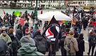 Venezia, presidio antifascista contro il comizio di Forza Nuova