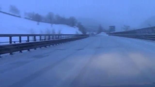 Allerta meteo, l'Appennino reggiano ricoperto dalla neve