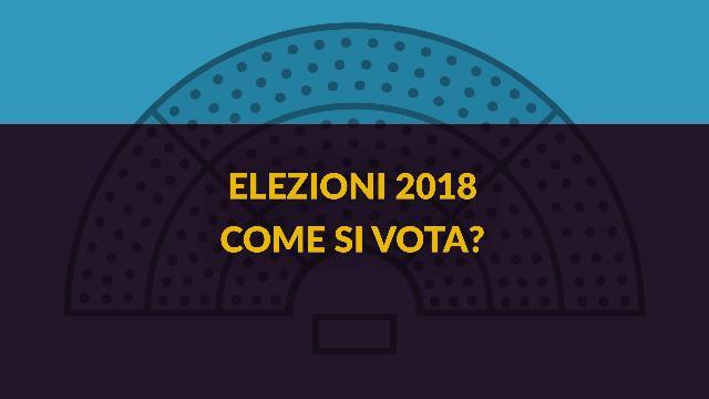 Come si vota, urne aperte fino alle 23