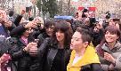 8 marzo, corteo a Roma. Asia Argento: ''Nostra voce un grido che continuerete ad ascoltare''