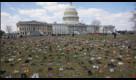 La protesta delle 7mila paia di scarpe: una per ogni ragazzo ucciso dalle armi