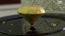 Tartufo, vaniglia e oro: ecco il pezzo di cioccolato più costoso al mondo