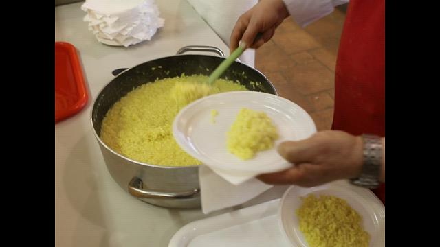 Suardi, i ragazzi di  Sannazzaro a lezione di risotto
