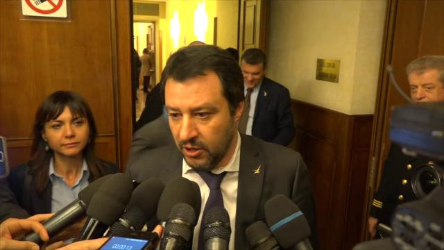 """Presidenza Camere, Salvini: """"Lega pronta a rinunciare a Senato per favorire l'accordo"""""""