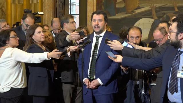 """Senato, Salvini: """"Abbiamo votato la Bernini, lo ho comunicato a Berlusconi"""""""