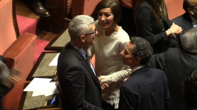 Senato, le trame con il M5S e litigi con FI: il videoracconto dello strappo della Lega in aula
