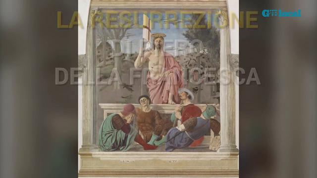Risplende la Resurrezione di Piero della Francesca