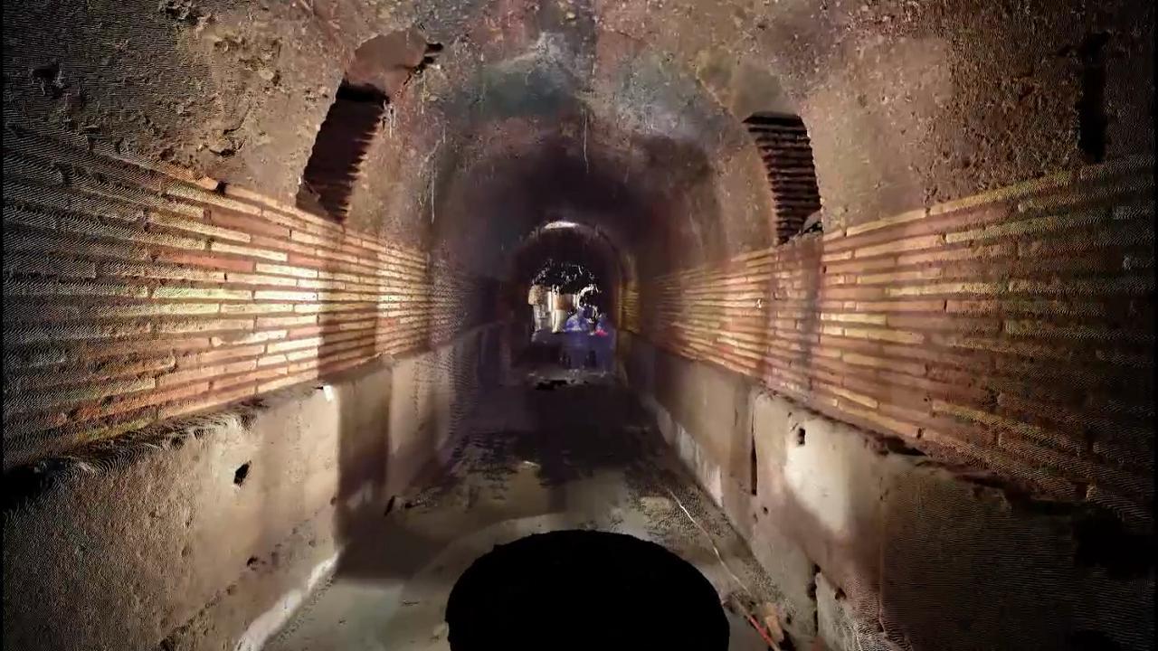 Roma sotterranea: un viaggio in 3D nelle viscere della