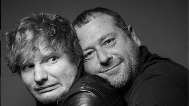 Ed Sheeran come non l'avete mai visto: le foto della sua guardia del corpo