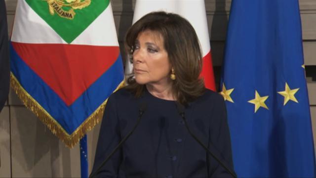 Governo, Casellati: ''Svolgerò l'incarico con spirito di servizio''