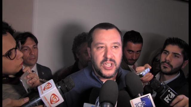 """Consultazioni, Salvini: """"Di Maio faccia un passo di lato. Non è il sole, non può comandare lui"""""""