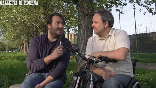 """""""Vi racconto le difficoltà dei disabili a Modena"""""""