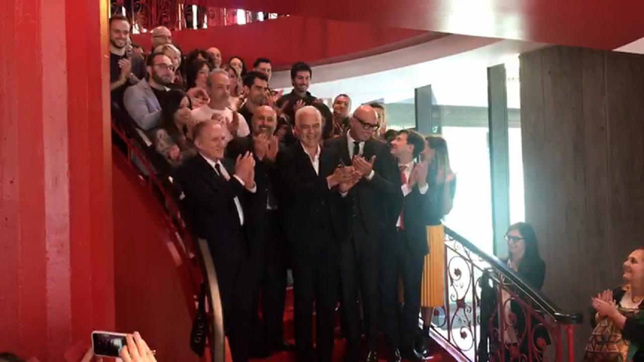Gucci inaugura un nuovo stabilimento a Scandicci  800 i dipendenti - Video  Il Tirreno 5005a0c779a5