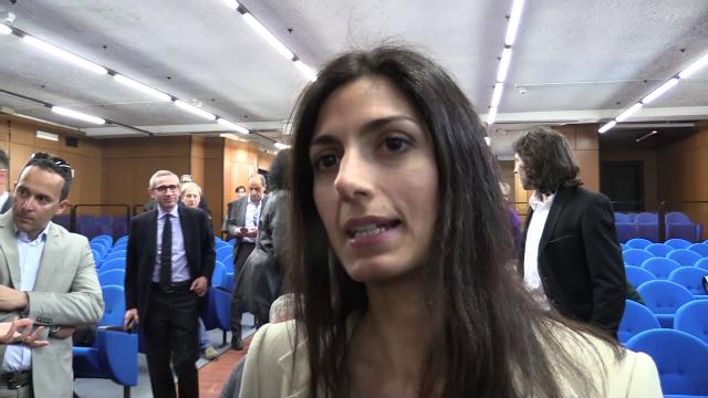 """Processo Spada, Raggi: """"Qui per dare messaggio al clan: Roma non ha paura"""""""