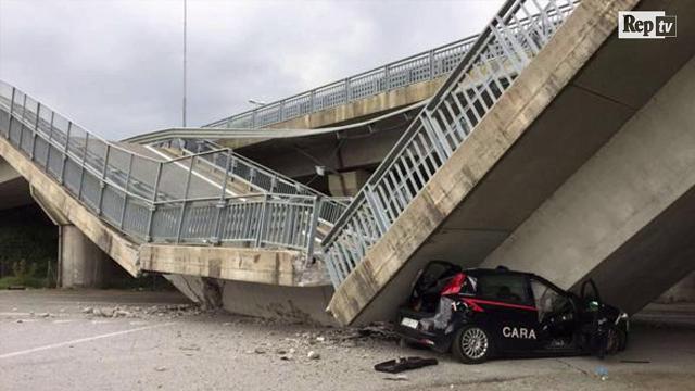 Crollo del viadotto di Fossano: dopo un anno non è cambiato nulla