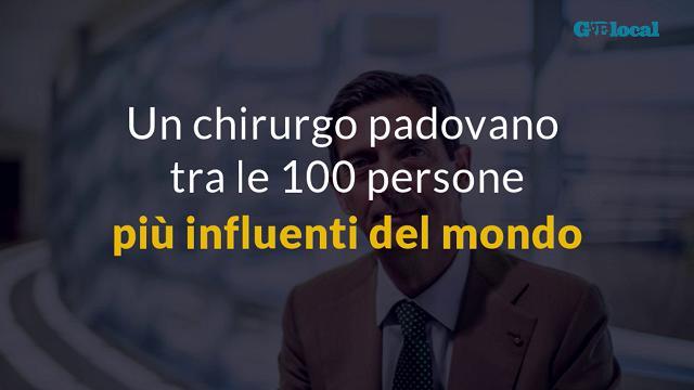 Un chirurgo padovano tra le 100 persone più influenti del mondo secondo il Time