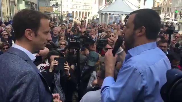 """Governo, Salvini: """"Mattarella, facciamo veloce. E ognuno scenda dal piedistallo"""""""