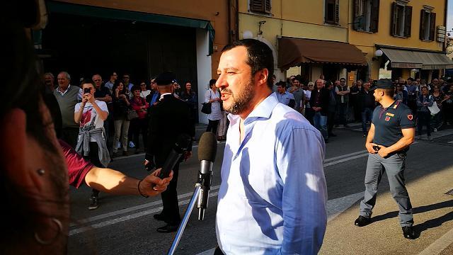 """Salvini a Cividale: """"Basta liti, facciamo il Governo"""""""