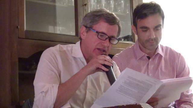 """Alemanno legge Guccini: """"Noi lo cantavamo di nascosto"""""""