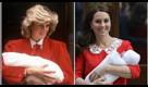 Gran Bretagna in festa per il royal baby: l'omaggio di Kate a Lady D