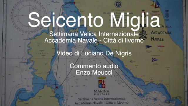"""Ecco la """"Seicento miglia"""" di Livorno"""