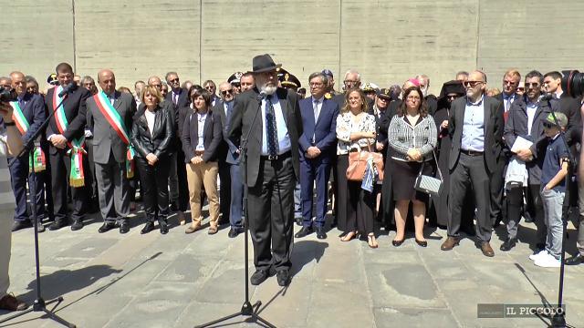 Trieste, il rabbino lascia la cerimonia del 25 aprile
