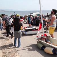 Vasche da bagno per il mare di Fertilia: i preparativi per la gara di San Marco