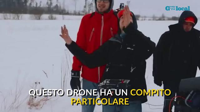 Aerones, il drone che aiuta l'uomo a spegnere gli incendi