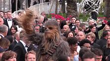 Cannes 2018, Chewbecca e le guardie imperiali per la proiezione di 'Solo: a Star Wars Story'