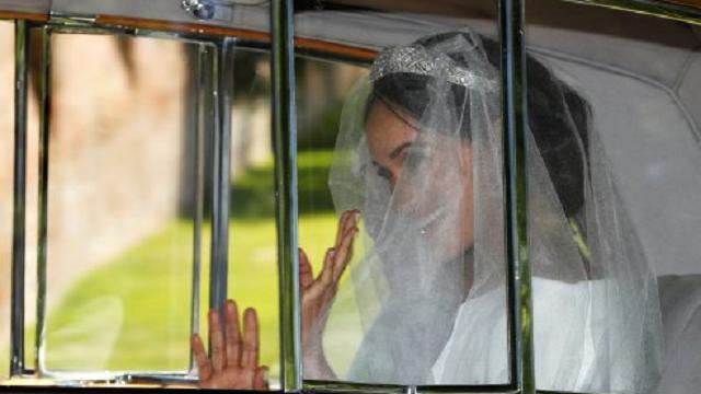 Royal wedding: l'arrivo della sposa Meghan Markle