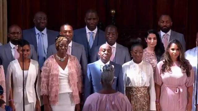 "Royal wedding, il coro gospel canta ""Stand by me"""