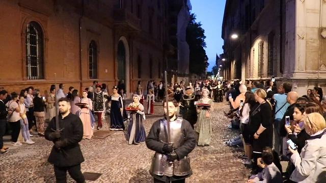 Palio di Ferrara, lo spettacolo del corteo storico