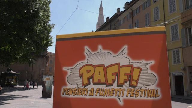 """Modena si scopre città del fumetto grazie al festival """"Paff!"""""""