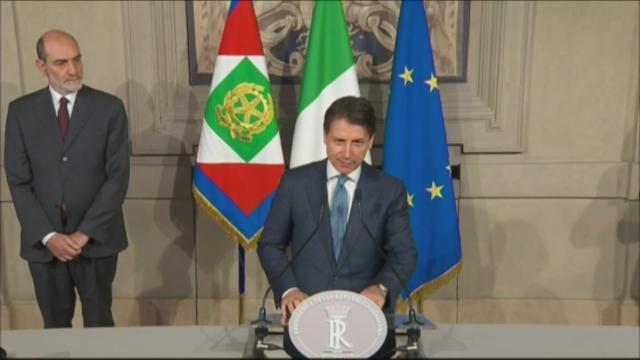Governo M5S-Lega, il vertice Conte-Di Maio-Salvini. La foto