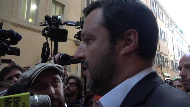 Governo Conte, Salvini: ''È una bella giornata, sarà un governo dell'orgoglio''