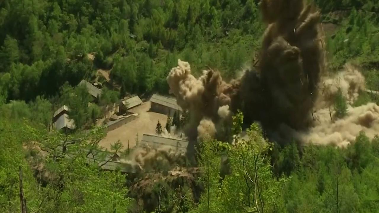 Corea del nord la distruzione di un sito nucleare nelle for Sito la repubblica