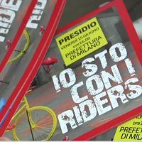 Milano, lo sciopero della Cgil non convince i rider