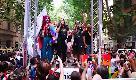Roma Pride 2018, Cirinnà in testa al corteo Lgbt canta l'inno di Mameli