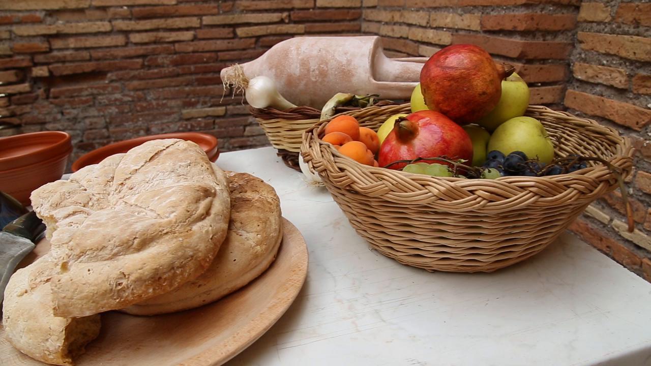 Ostia antica nelle tabernae viaggio nei segreti dei cibi for Cibi tipici di roma