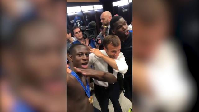 Russia 2018, Francia campione del mondo :la dab dance di Macron per festeggiare